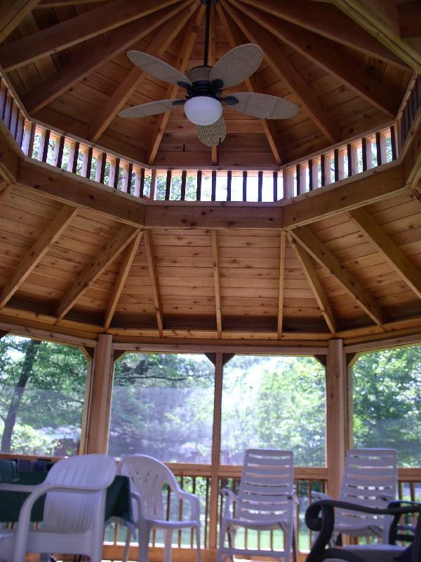 Western red cedar pergolas for Cedar pavilion plans
