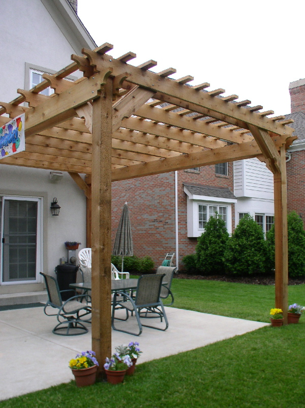 Pre engineered pergola kits for Pergola designs