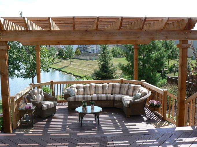 Superb Cedar Pergolas