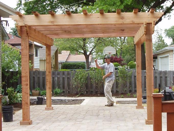 pergolas. 12 X12 ... - Pergola, Arbors, Deck And Patio, Western Red Cedar Pergolas